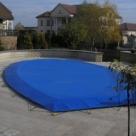 Тент укрытие на бассейн
